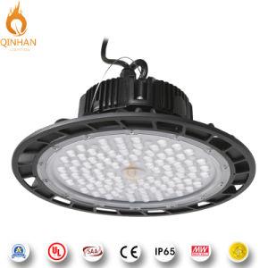180lm/W 100-250W OVNI High Bay LED de luz para iluminação de depósito de fábrica Industrial interior
