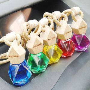Carro Multidimensional vazio frasco de vidro para pendurar vaso difusor de perfume carro