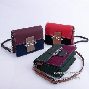 Nuevo estilo de Colisión de color de piel genuina bolso de mano de Cocodrilo Bolso bolsos señoras Bolsos con bandoleras moda diseñadores Bolso Bolso de mano bolsos de cuero SH585