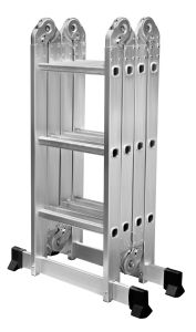 Dx-4*3 Extension multifonction en aluminium l'étape Échelle télescopique de pliage en131