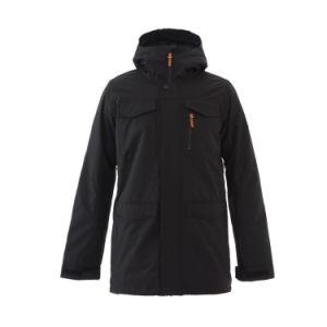 Les hommes de plein air veste de randonnée d'hiver imperméables avec couture enregistrées