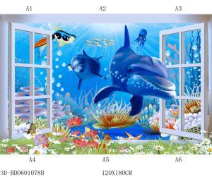 Ozean-Wand-Fliese 2018 des Foshan-neue Muster-Porzellan-3D für Fußboden oder Wand mit Cer-Zustimmung