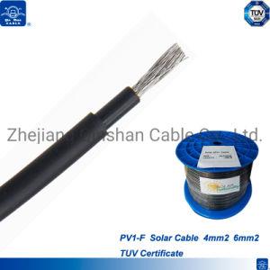 Certificado pela TUV Single H1Z2Z2-K Cabo Solar 2,5mm 4mm, 6mm 10mm