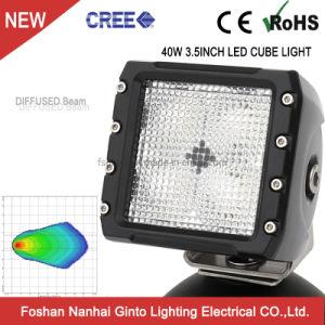 À prova de água 40W 3.5INCH 12V LED CREE Cube Pod Luz de Trabalho para Offroad Veículo Tractor Carro (GT14105)