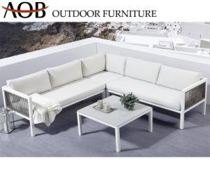 Jardim exterior moderno Home Hotel sala espaçosa sala de lazer inicial definida mobiliário sofá de canto