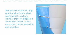 De moderne Waterdichte Kleine Verticale Turbogenerator van de Wind voor het Gebruik van het Huis