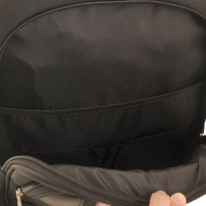 Schwarzer Laptop-Beutel mit Freizeit-Entwurf für 15.6