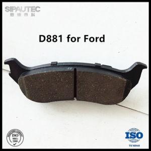 Pastilha de travão traseiro Semi-Metal (D881) para as peças de automóveis Ford Explorer