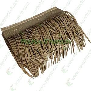 Toit de feuilles de palmiers synthétiques, toit couvrant de chaume, panneaux de toit de chaume