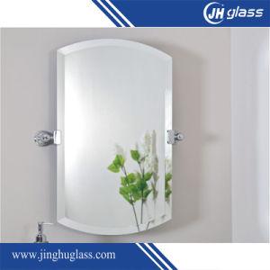 3-6 mm de muebles de baño espejo con borde polaco