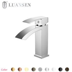 Luansenの標準的なモデルクロム真鍮の洗面器のコックの洗面器のミキサー