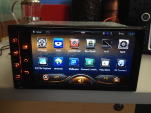 2 GPS Navigation System를 가진 DIN Carpad Android 4.2 OS Version