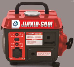 輸出するオイルの発電機(JS950A)を