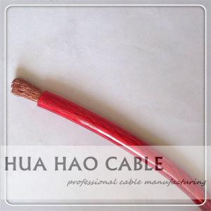 Проводник из бескислородной меди полихлорвиниловая оболочка 0AWG 10AWG автомобильный кабель аккумуляторной батареи/Car бустерного кабеля