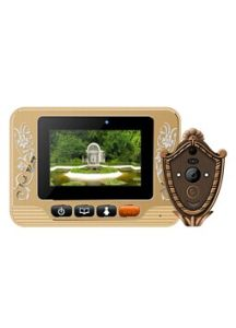 3.7 Inch LCD Screen Peeohole Viewer mit Infrared Camera