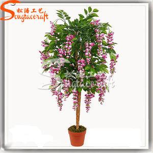 Decoração Graden planta artificial Topiary Bonsai Tree
