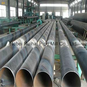 ASTM A572 Gr. 50 Spirale geschweißte Stahlrohre, die Projekte anhäufen