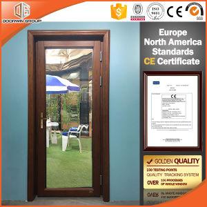 Chinois en bois de qualité supérieure et de la vitre de porte en aluminium