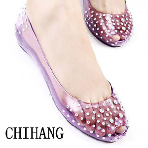 2013 Transparent Jelly sandale Chaussures pour dame-060-01 (CH)