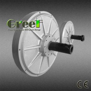 500W 200rpm pequeno gerador coreless de turbina vertical
