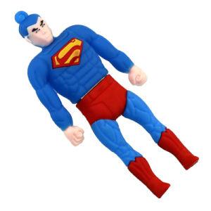 Héroe de dibujos animados USB Pen Drive 8GB Memory Stick Pendrive 16GB 32 GB 64gbpvc Bat Man Super hombre increíble Hulk unidad Flash USB
