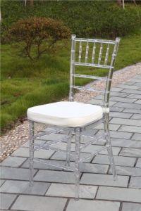 수지 Chiavari 투명한 의자