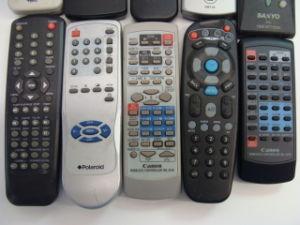 Rubber Button를 가진 텔레비젼 Universal Remote Control Codes