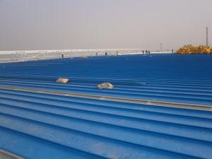 Tôle de toit de tôle en acier galvanisé (ZY183)