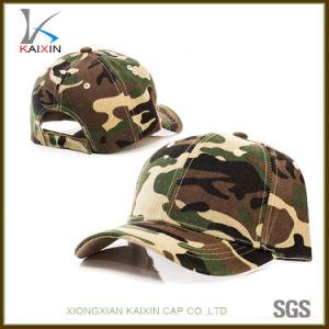 野球帽のCamoの卸し売り明白なブランク屋外の帽子