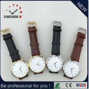 Alarma al por mayor reloj de cuarzo de acero inoxidable a precio competitivo (DC-1217)