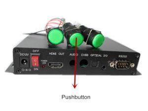 새로운 디지털 Signage 선수 지원 Gpio 의 운동 측정기, RS232 통제, 누름단추식 전쟁.