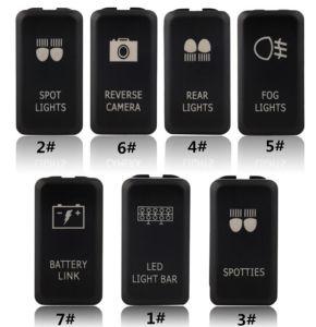 Pin marino della barra chiara 5 dell'interruttore di attuatore del cambio di stato di funzionamento del rimorchio del crogiolo rv di automobile dei ricambi auto 12V 24V LED noi