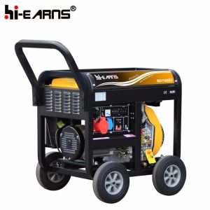 Portátil de 8kw Generador Diesel (DG11000E3).