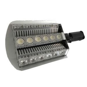 組み込みのグレア制御を用いる320watt LEDの街灯160lm/Wattの非対称的な角度
