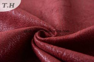 Tessuto di cuoio sintetico del tessuto di tessile del sofà dei 2016 lussi