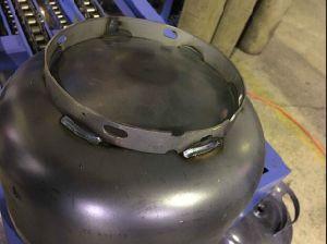 Saldatrice automatica della base della parte inferiore del cilindro di GPL