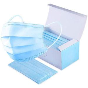 Stock ! 3 plis Proctection masque jetable médicale face Meltblown masque non tissé