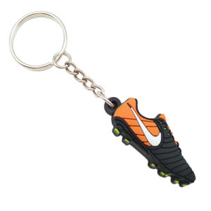 기념품 또는 승진을%s PVC 고무 열쇠 고리를 광-고해 Cheap Custom Company