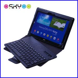 Draadloos Toetsenbord Bluetooth voor Geval van het Leer van iPad het Mini