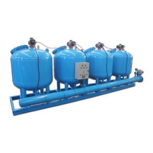 Macchina multipla industriale del filtro a sacco delle unità per il trattamento delle acque