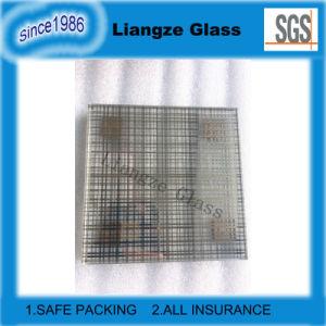 Het doorzichtige Grijze Glas van de Kunst van Lijnen met CCC