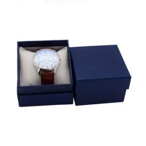 Горячая штамповка бумаги с логотипом подарочные часы в салоне