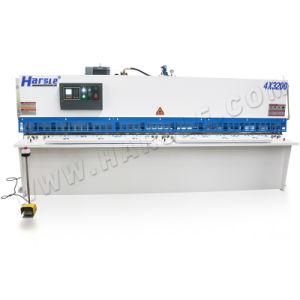 QC12Y-8*3200 Machine de cisaillement hydraulique, Groupe hydraulique de la guillotine poutre de pivotement