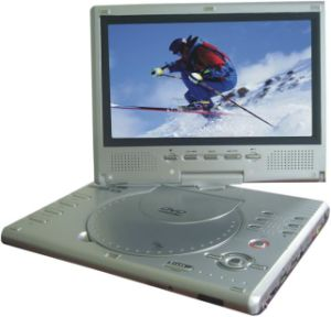 9.0inch LCD와 DVB-T (TPD-1298R)를 가진 휴대용 DVD 플레이어