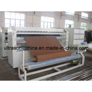 Machine de stratification ultrasonique pour les tissus non-tissés