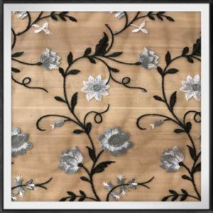 花嫁の刺繍のレースファブリック網の刺繍のレースファブリック