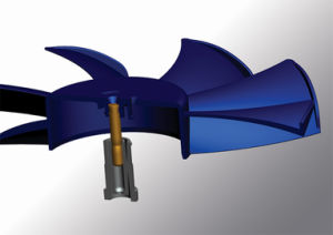 Pressão Barométrica do rolamento de esferas (B. B. b) do ventilador