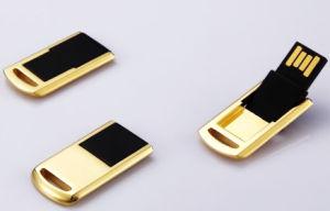 Customer Logo MnU926が付いているQualityよいGold USB Stick
