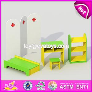 El preescolar de alta calidad de madera Muebles de dormitorio para niños juegos de W08H073