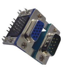 D-SUB Stapel-Verbinder-regelmäßiger Verbinder HD